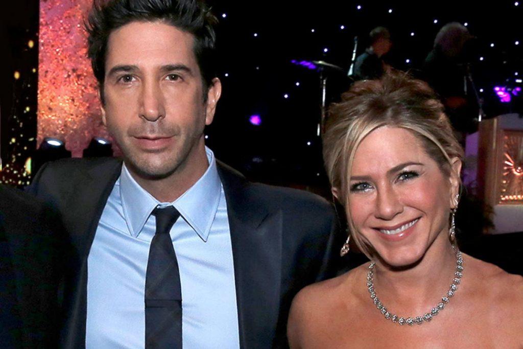 Jennifer Aniston e David Schwimmer
