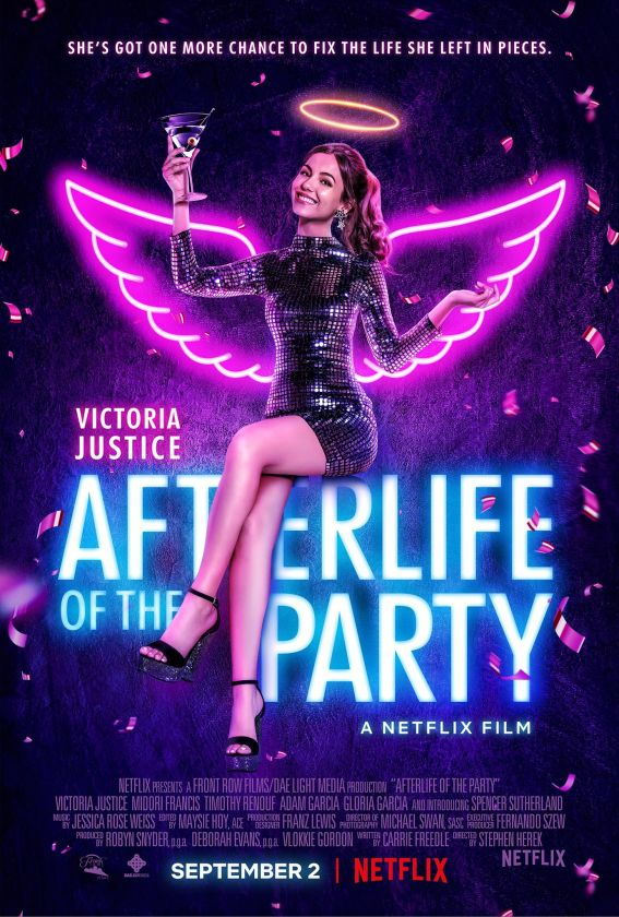 Afterlife of the Party locandina film