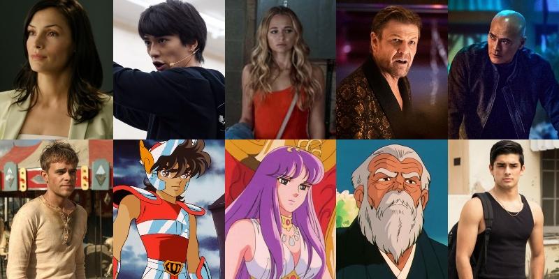 Gli attori che prenderanno parte al film I cavalieri dello zodiaco