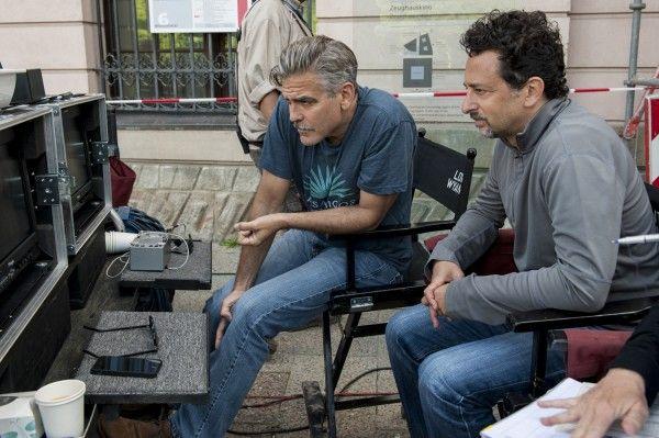 George Clooney sul set di The Tender Bar