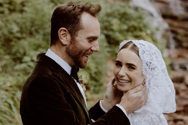 Lily Colins marito