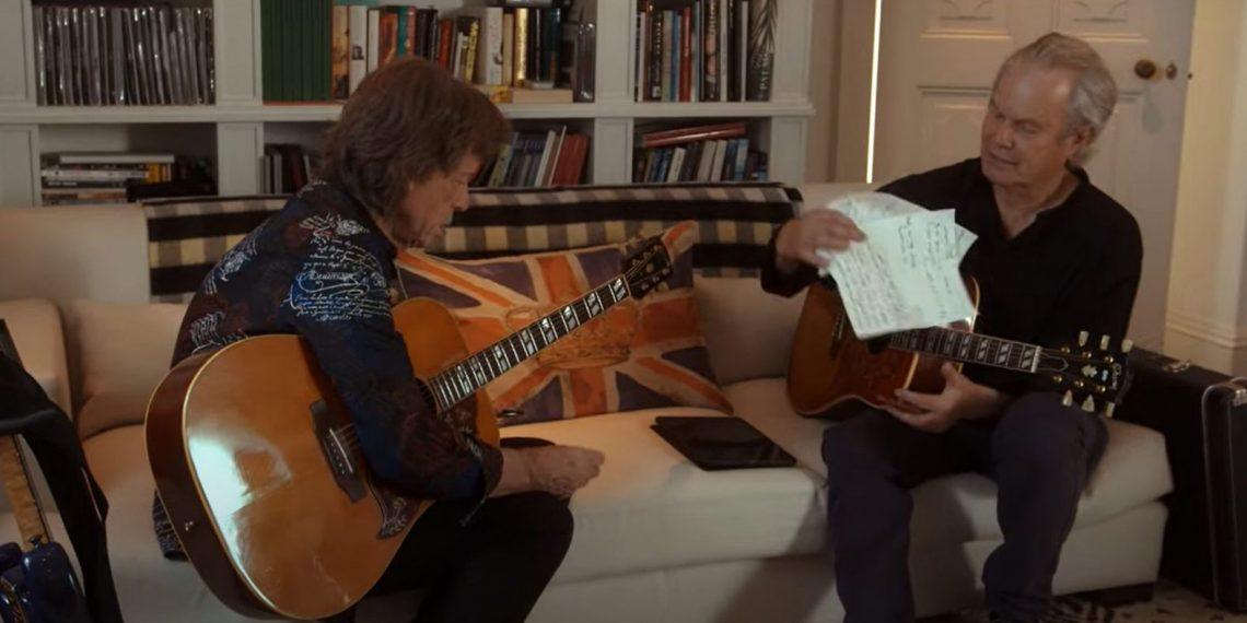 Mick e Chris Jagger foto 2021