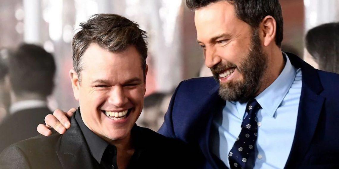 Matt Damon e Ben Affleck sul set di The Last Duel