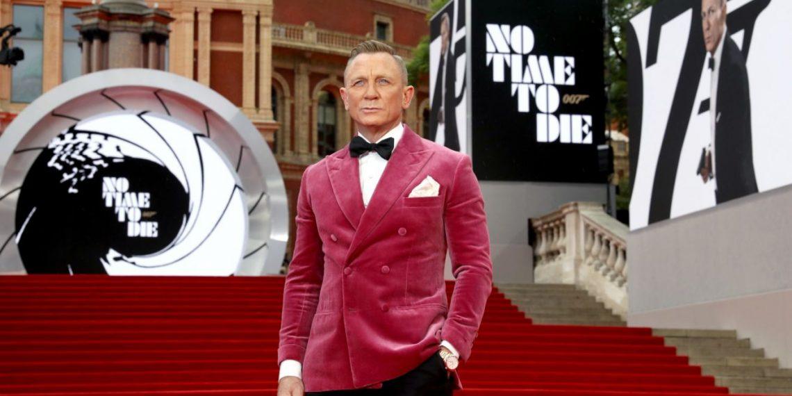 Daniel Craig No Time To Die Red Carpet