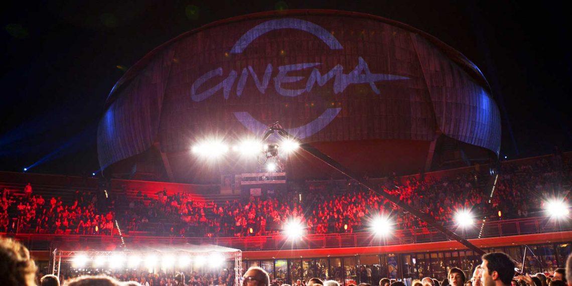 Apertura della Festa del Cinema di Roma nel 2019