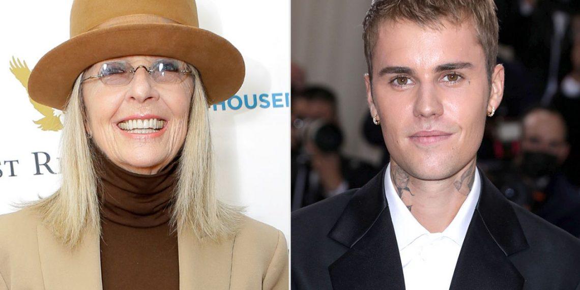 Justin Bieber e Diane Keaton