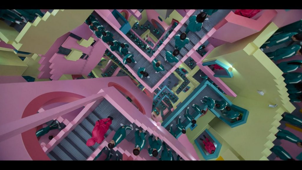 labirinto Squid Game